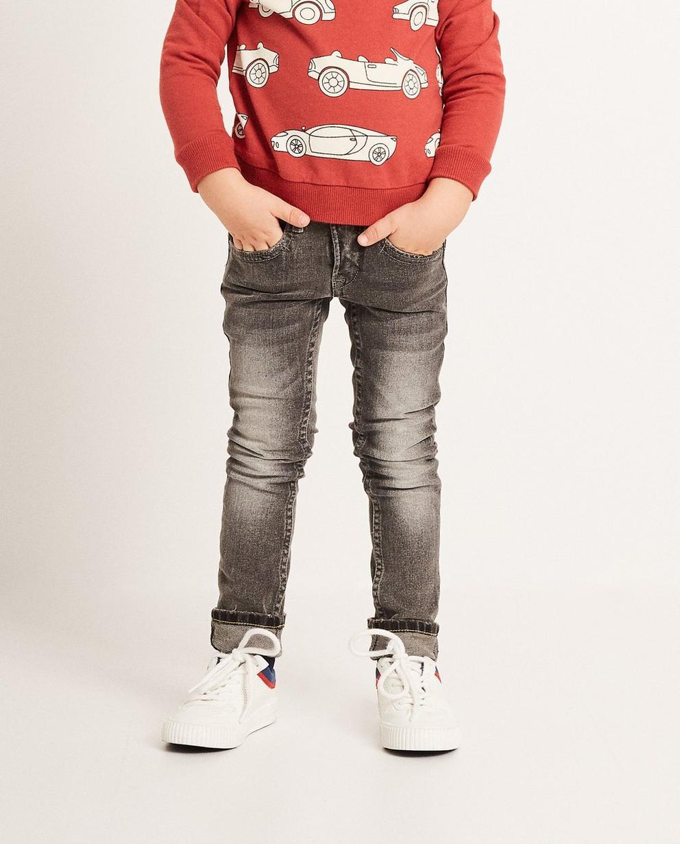 Jeans - Grau -